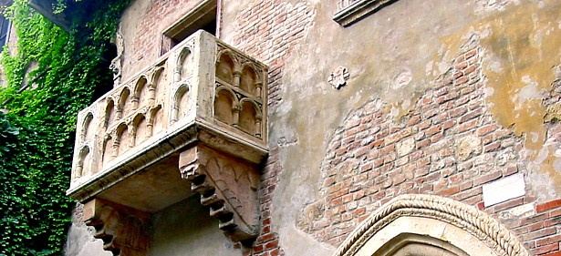 Trouwen op het balkon van Julia in Italie - Italie da vivere