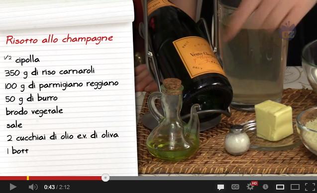 Risotto champagne