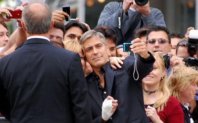 Clooney Toscane Italie