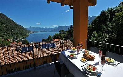 TIP! Appartement met prachtig uitzicht op het Comomeer