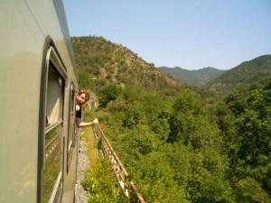 Italie per trein